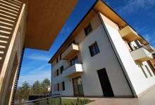 Bytové domy z CLT panelov v Taliansku