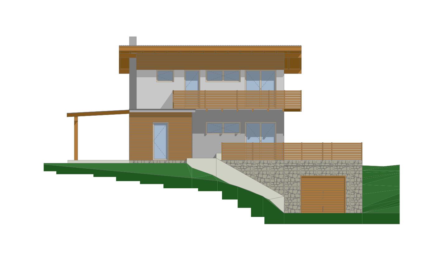 drevodom vizaulizácia cube3
